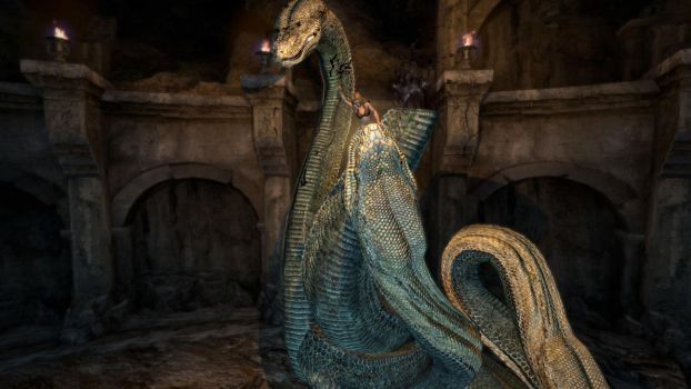 Dragon's Dogma Archydra Vore 26 by Iffy350