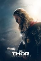 Thor The Dark World fan Thor poster by crqsf