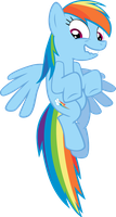 Rainbow Dash - I'm best pony by ThunderBike