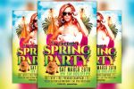 Spring Party Flyer Template by majkolthemez