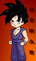 DBZ: Gohan :RQ: by The-PirateQueen