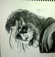 Heath Ledger - The joker by bellamyribeiro