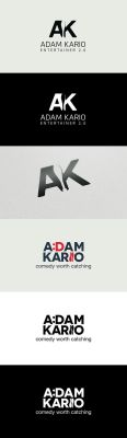Logo concepts for a comedy juggling entertainer by samadarag