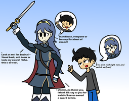 Body stealer Series #1 : Lucina by Kyon000