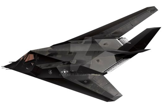 F-117A by araeld