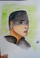 Furiosa Watercolor(based on Mary Cagnin's drawing) by hidingmymess