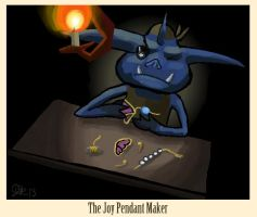 The Joy Pendant Maker by ragedaisy