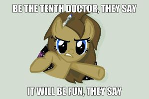 Be The Tenth Doctor by ChriFiM