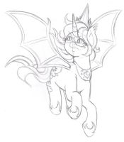 AtW - Princess of the Sleeping Sketch by Wildnature03