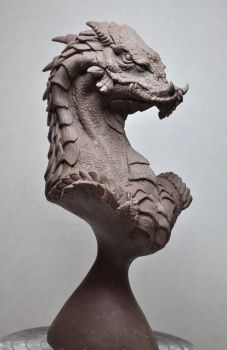 'Norther King' Dragon Bust 2 by AntWatkins