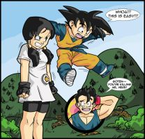 Oh, come on Goten! by psychotoonist