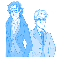 fyresteed: Lachlan and Maxwell by pai-draws