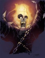 015 - Ghost Rider by JeremyTreece
