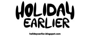 holiday earlier logo by setitikasa