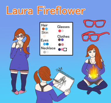 Laura Revised Character Sheet by NewGhost9