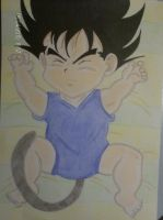 a cute baby vegeta by teazuko