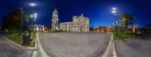 Pompei Church and Piazza 360 by immauss