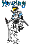 Heuring in Halo 3 by The-VehicleDestroyer