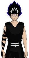 hiei cel-shaded 7 by GAME-ART-EDITED-ART