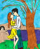 Lily and James in love by Naddie13