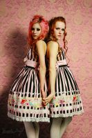 Candy floss girls by blackheartarew