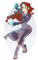 :: Commission Mar 03: Sophie Trevelyan :: by VioletKy