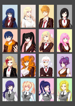Yearbook Photos by 21as