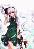 Soul Of Youmu by Dewitrika