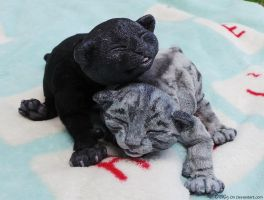 Litter of Kittens - Soot - FOR SALE by Sovriin