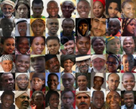 African Faces by J-Mace