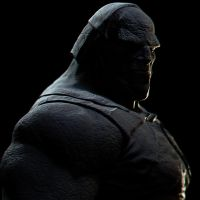 Sneak Preview - Darkseid Sculpt by vshen