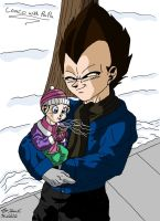 Coaco With Daddy by Iziume89