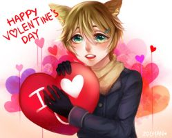 Happy Valentineeeeee's! by Z0Chan