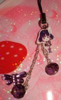 Phone Charm- Sailor Saturn by honeyheavenly