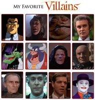 My Favorite Villains Meme by Kooshmeister