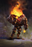 Flame King by MikeAzevedo