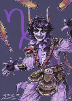 Fanart - SkyPirate!Stuck Gamzee by fictograph