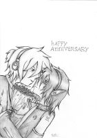 Happy anniversary by ASK-Rei-Kagene