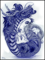 China dragon by Sutorippu