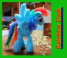 Rainbow Dash doll by JenniferElluin