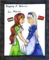 Belarus/Hungary for Monica by GosterMonster