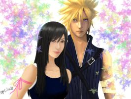 Tifa x Cloud by Epsilon86