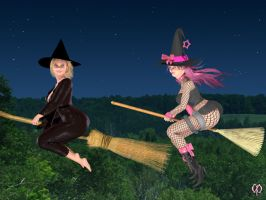 Witches on tour by Chronophontes