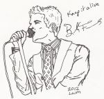 Mr. Brightside himself by littlewolfmoccasin