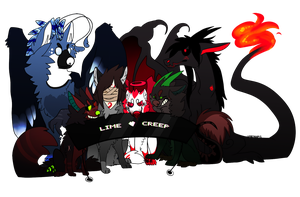 Group ID - Main OC's by SickAede