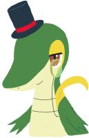 Good Sir the Snivy by Snivy94