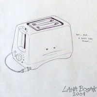 Day 48 Sad Little Toaster by lanabosak