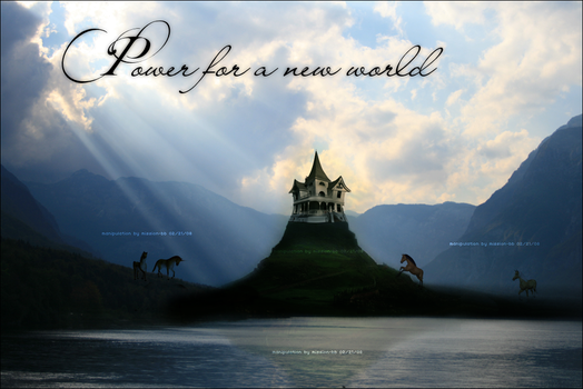 Power for a new world by Mission-BB