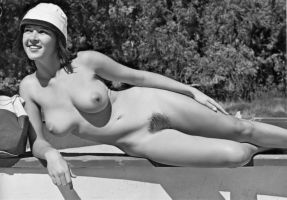 Cute Nudist/Model by NJDVINTAGE