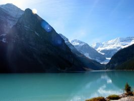 Lake Louise Mountainscape by muka3D